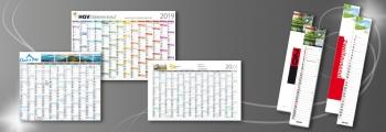 Wandplaner | Streifenkalender