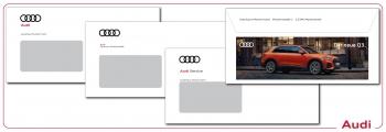 Briefumschläge Audi