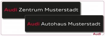 Kennzeicheneinleger Audi