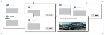 Briefumschläge VW - Nutzfahrzeuge - Service