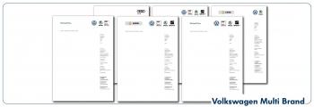 Briefbogen VW Multi Brand