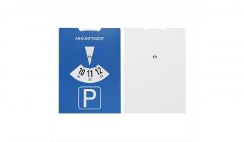Karton-Parkscheibe