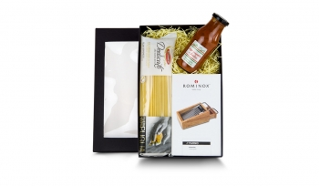 Geschenkset / Präsenteset: Die Parmesanreibe