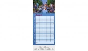 Reiseträume - Familienkalender 2022 (Rückwand)