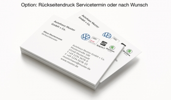 Visitenkarten VW Multi Brand 4