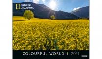 COLOURFUL WORLD POSTERKALENDER 2021