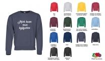 Classic Set in Sweat Shirt Men - farbig