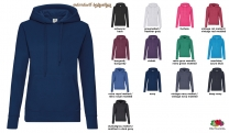 Classic Hooded Sweat Lady-Fit - farbig