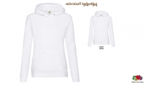 Classic Hooded Sweat Lady-Fit - weiß