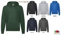 Lightweight Hooded Sweat Unisex - farbig