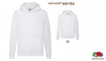 Lightweight Hooded Sweat Unsisex - weiß