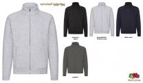 Premium Sweat Jacke Men - farbig