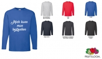 Valueweight  Long sleeve T Men - farbig
