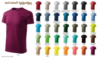 BASIC 129 Herren T-Shirt - farbig
