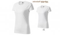 BASIC 134 Damen T-Shirt - weiß