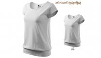 CITY 120 Damen T-Shirt - weiß