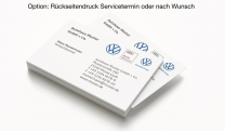 Visitenkarten VW Multi Brand 3