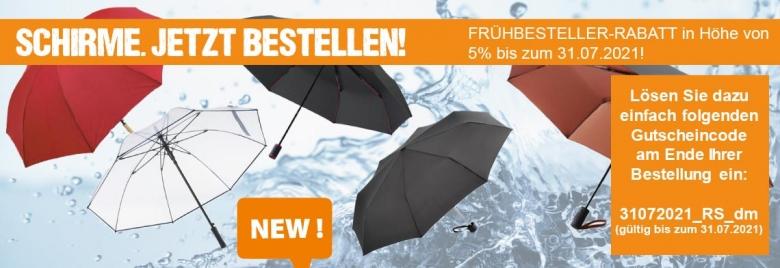 Aktion Schirme
