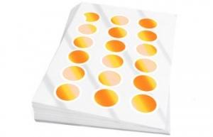 Premiumetiketten weiß (glänzend)