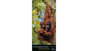 NATIONAL GEOGRAPHIC FAMILIENPLANER 2021