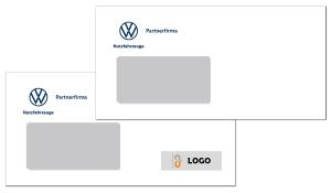 Briefumschlag VW Nutzfahrzeuge