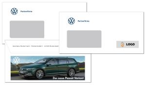 Briefumschlag VW Partner