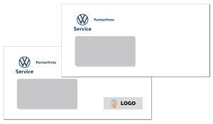 Briefumschlag VW Service