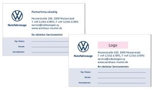 Terminkarten 1 VW Nutzfahrzeuge