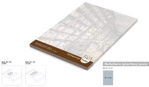 Haftnotizblock Basic 100 x 147 mm