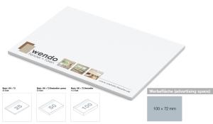 Haftnotizblock Basic 100 x 72 mm