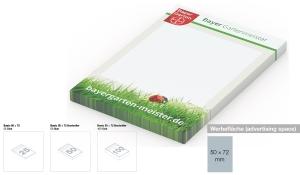 Haftnotizblock Basic 50 x 72 mm Bestseller
