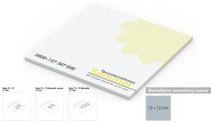 Haftnotizblock Basic 72 x 72 mm