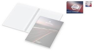 Notizbuch Bizz-Book Polyprop inklusive Digitaldruck