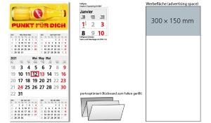 5-Monatskalender 2021 Commerce 5 Post