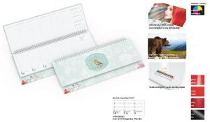 Tischquerkalender 2021 Compact Cover-Star