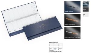 Tischquerkalender 2021 Compact Kunststoff