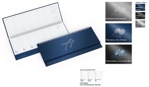 Tischquerkalender 2021 Compact Metallica