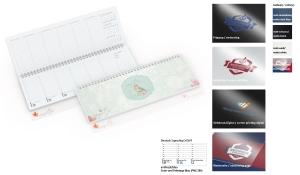 Tischquerkalender 2021 Compact Polyprop
