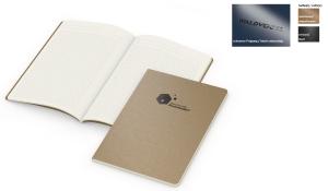 Notizbuch Copy-Book Creme Naturkarton inklusive schwarzer Prägung
