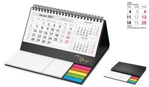 Tisch-Aufstellkalender 2021 Delta C