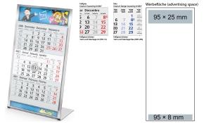 3-Monatskalender 2021 Desktop 3 Steel