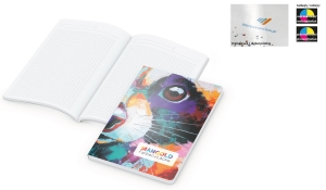 Notizbuch Flexx-Book Naturkarton inklusive Digitaldruck