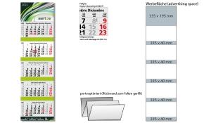 5-Monatskalender 2021 Grande Wire-O 5