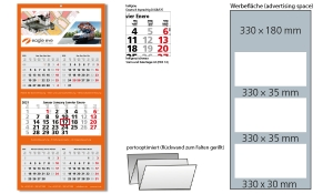5-Monatskalender 2021 Multi 5