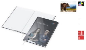 Notizbuch Note-Book inklusive Digitaldruck
