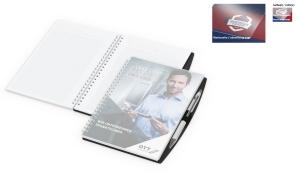 Notizbuch Pen-Book Basic Polyprop inklusive Digitaldruck