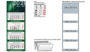 4-Monatskalender 2021 Profil 4 Recycling