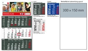 3-Monatskalender 2021 Solid 3