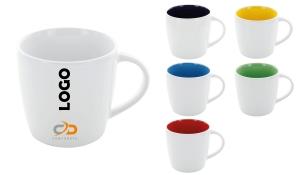 Tasse Emilia-Serie innen farbig