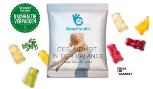 Gummibärchen Vegan im Werbetütchen